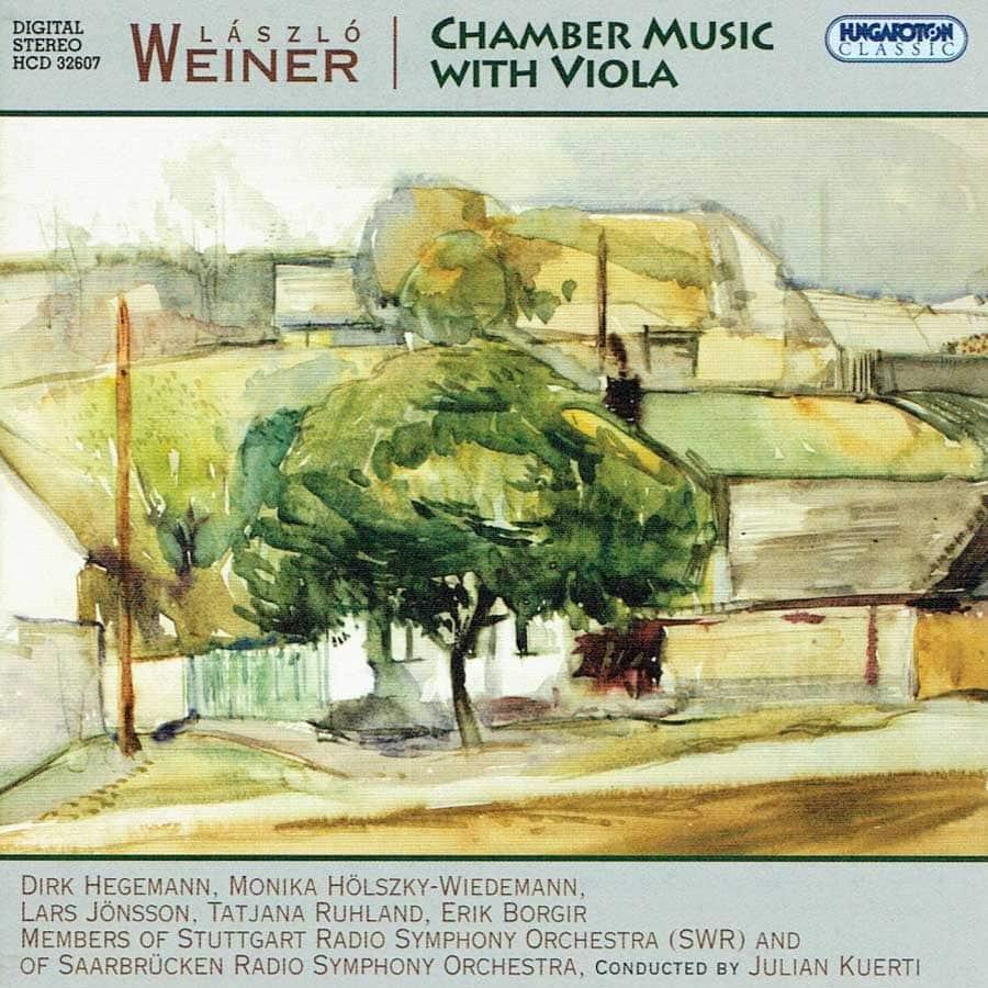 Laszlo Weiner - Chamber Music With Viola